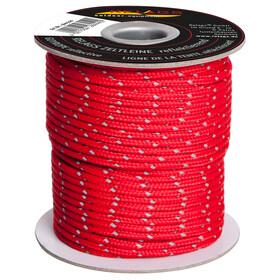 Relags Seil 3mm reflektierend-rot